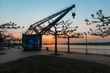 Der alte Hafen von Düsseldorf