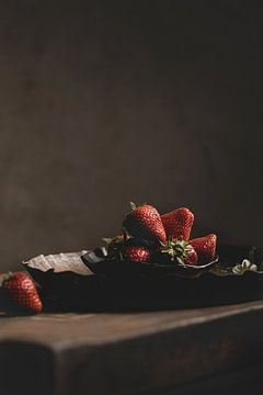 Aardbeien op schaal van Anoeska van Slegtenhorst