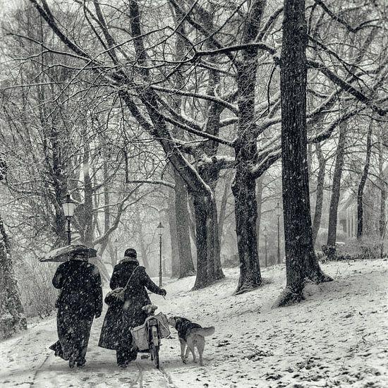 December sneeuw van Tvurk Photography