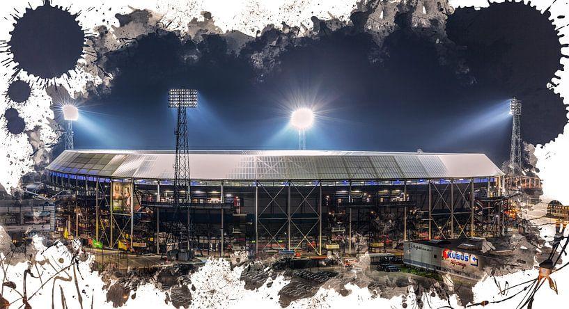 """Feyenoord ART Rotterdam Stadion """"De Kuip"""" Parkeerplaats van MS Fotografie   Marc van der Stelt"""