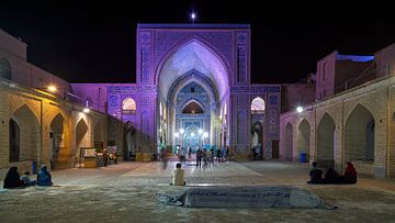 Jame moskee in Yazd van Jeroen Kleiberg