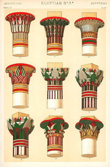Owen Jones's famous 19th Century Grammar of Ornament