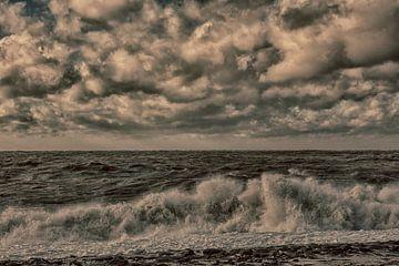 coup de vent sur la mer du Nord sur anne droogsma