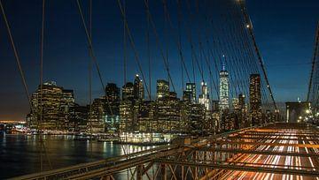 Manhattan Lights van Bart van der Horst
