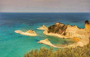 Kap Drastis Peroulades, Korfu Griechenland von Marjolein van Middelkoop