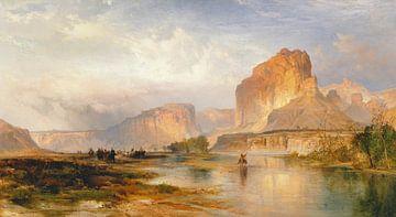 Thomas Moran~Klippen des Green River