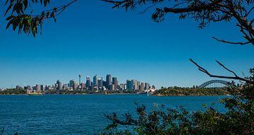 Uitkijk op de Skyline van Sydney van Kaj Hendriks