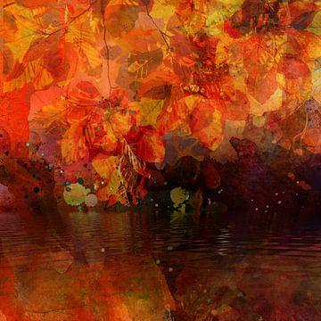 Gouden herfst van Andreas Wemmje