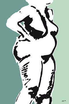Rubenswoman von Kris Stuurop
