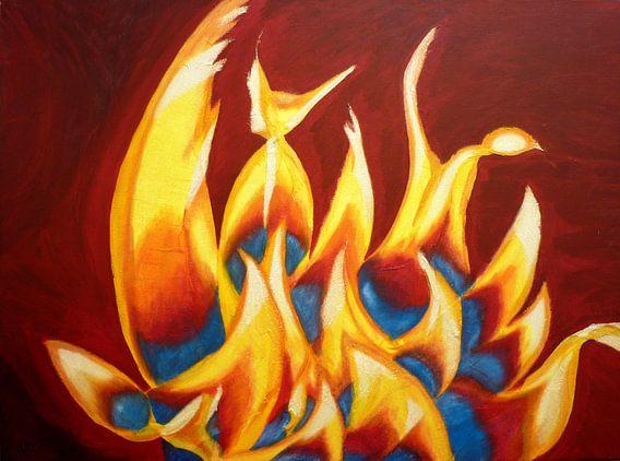 Vlammen van Lorette Kos