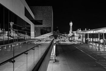 Gent-Sint-Pieters bij avondlicht von Eric Verstraeten