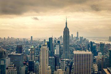 Blick über die Innenstadt von Manhattan von John van den Heuvel