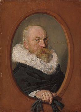 Porträt des Petrus Scriverius, Frans Hals