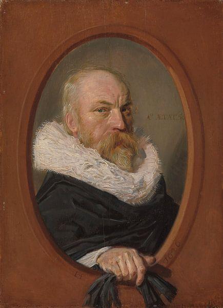 Porträt des Petrus Scriverius, Frans Hals von Meesterlijcke Meesters