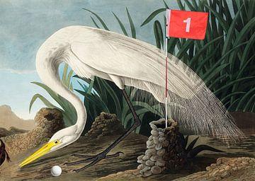 Nog een putt te gaan en je hebt een Birdie! van Rudy & Gisela Schlechter