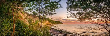 Steilküste und Strand bei Boltenhagen an der Ostsee in Norddeutschland von Voss Fine Art Photography