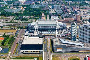 Amsterdam Arena vanuit de lucht gezien
