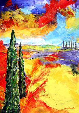 Toscanische Impression von Eberhard Schmidt-Dranske