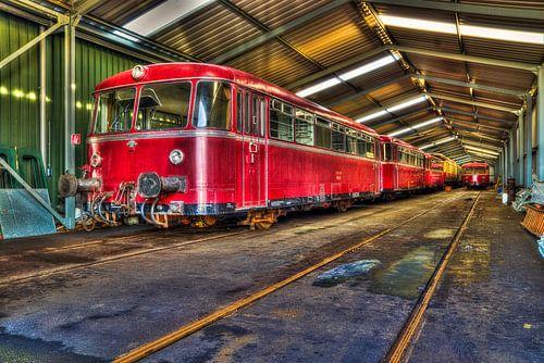 Antieke tram