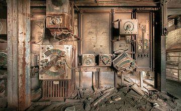 Urbex elektriciteitskamer van Olivier Van Cauwelaert