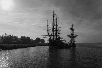 Batavia bei Lelystad von Brian Morgan