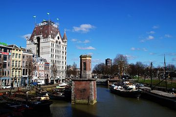 Maison Blanche Rotterdam / White House Rotterdam sur Maurits Bredius