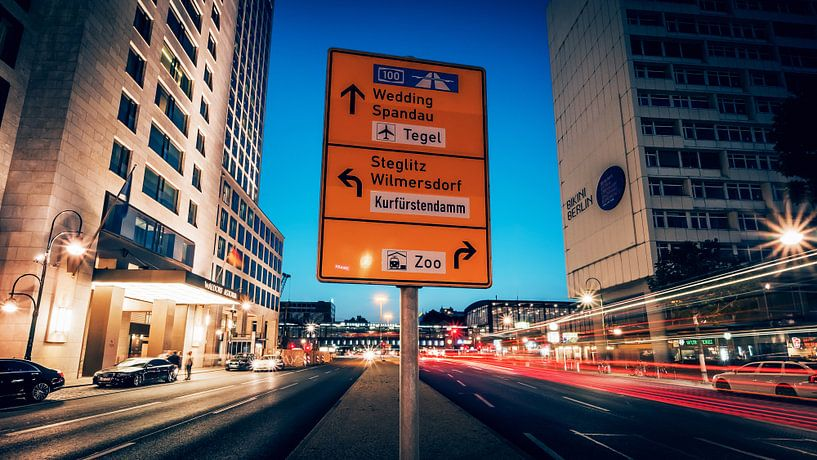 Berlin – City West / Hardenbergstrasse van Alexander Voss