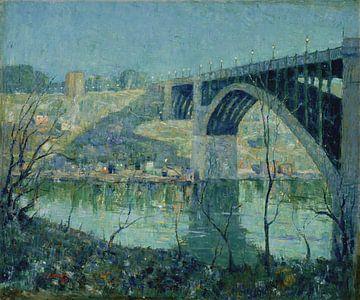 Ernest Lawson-Lente-Nacht, Harlem River