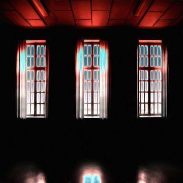 Dunkle Fenster von Maurice Dawson