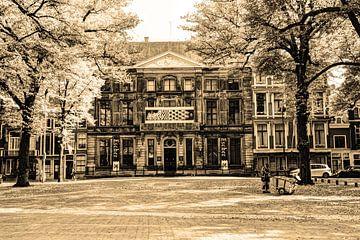 Palast Lange Voorhout Escher in het Paleis Den Haag Niederlande Sepia von Hendrik-Jan Kornelis