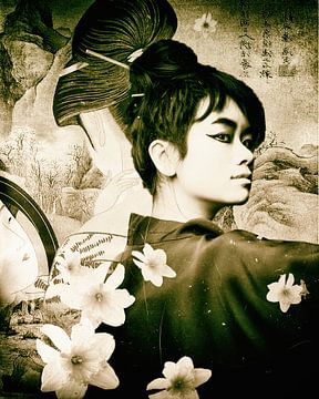 Geisha 02 van Mark Isarin | Fotografie