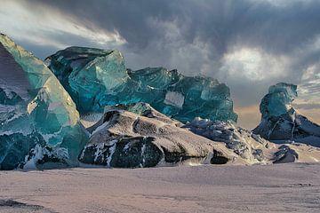 Eisberge in Asgaardbukta von Kai Müller
