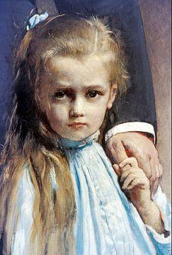 Léon Bonnat-Pasteur und seine Enkelin Camille Vallery-Radotot.