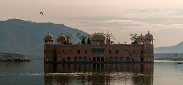 Jaipur: Jal Mahal Palace van Maarten Verhees