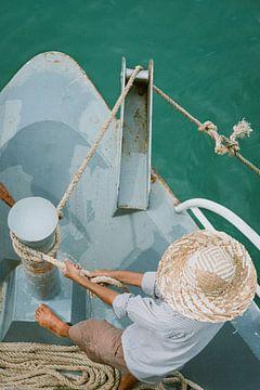 De visser in Vietnam van Karlijne Geudens