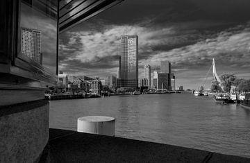 Erasmusbrug Rotterdam van Henk Miedema