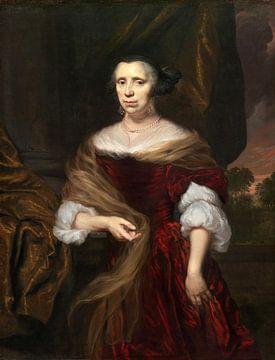 Porträt einer Dame, Nicolaes Maes