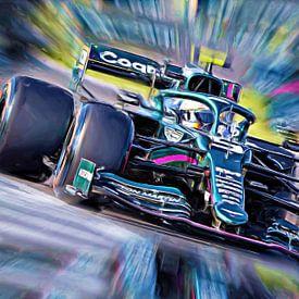 Vettel - Saison 2021 von DeVerviers