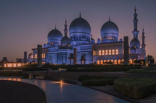 1001 nights, Sheikh Zayed grand mosque
