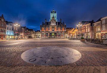 Stadhuis Delft sur