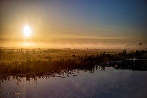 Een ochtend in Nederland van Eus Driessen