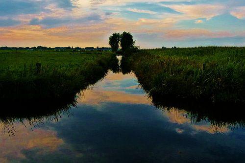 Arkenheemse polder, provincie Utrecht. van
