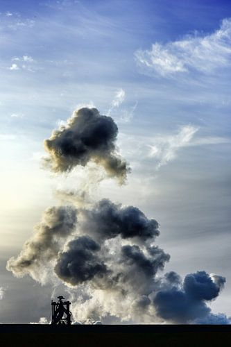 Micro Wolken Machine van