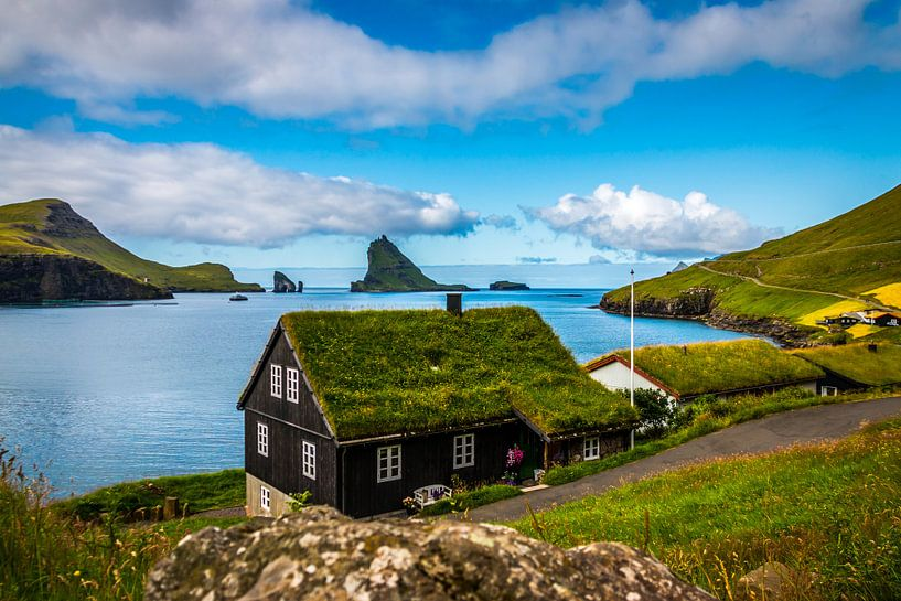 Faeröers huis van Kim Claessen