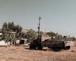 De verlaten truck van Jelle Lagendijk