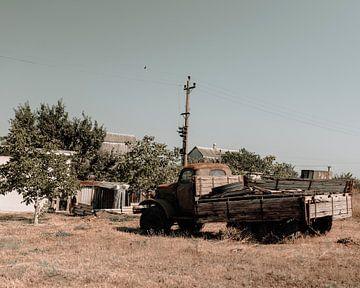 Der verlassene Lastwagen von Jelle Lagendijk