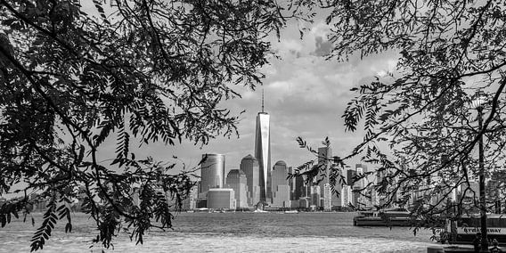 Manhattan Skyline van Kurt Krause