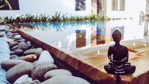 Beeldje buddha van