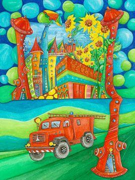 Feuerwehrstadt von Atelier BuntePunkt