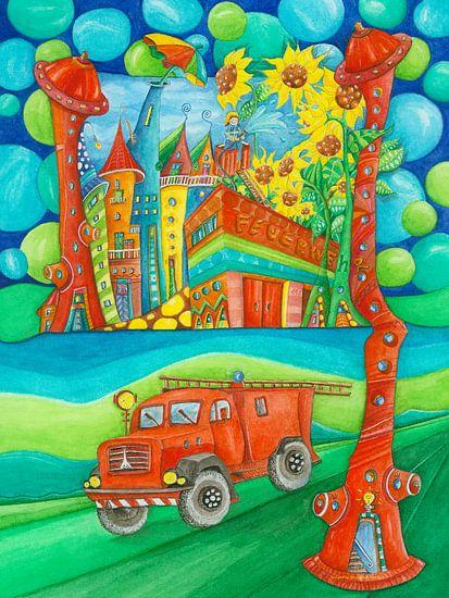 Brandweer van Atelier BuntePunkt